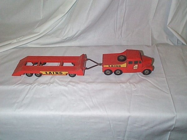 509: Matchbox Series King Size #8 Scammell 6X6 Tractor