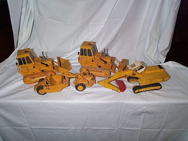 520: Lot of 4 NZG Modelle made in West Germany Diecast