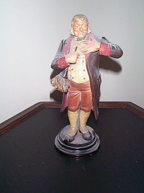 814: 19th.C Signed DEP #7070 bisque figurine depicting
