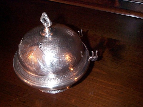 908: Victorian silverplate signed Pierpoint #513 1/2 co