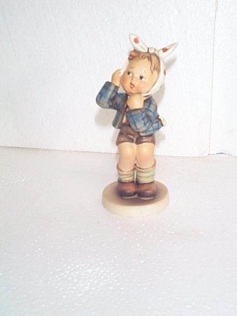 2: Hummel figurine #217 - trademark 3 - stylized B.  Bu