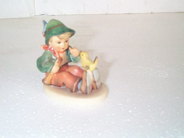 10: Hummel figurine #63 - Goebel B mark.  Artist signed