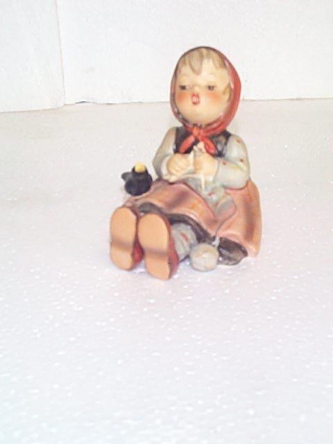 12: Hummel figurine #69 - Goebel B mark.  Artist signed