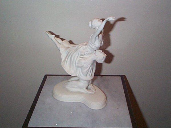 4: Signed Boehm figurine, The Romance of Ballet, Romeo