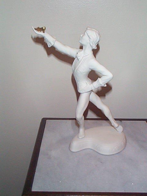 6: Boehm Figurine, The Cinderella Ballet Porcelain Scul