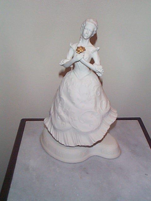 7: Boehm figurine, Cinderella Ballet Porcelain Sculptur