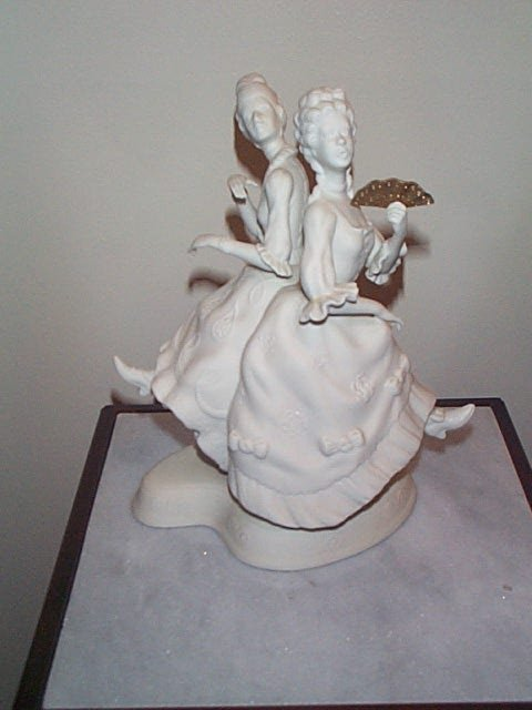 8: Boehm Figurine, The Cinderella Ballet, Porcelain Scu