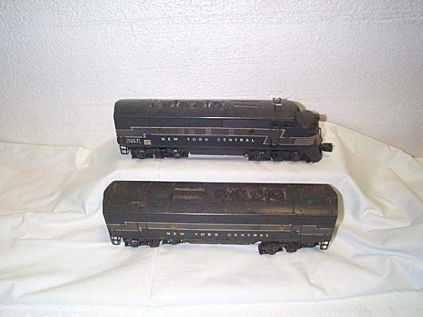 501: Lionel O27 gauge engine #2344 NY Central.  Comes w
