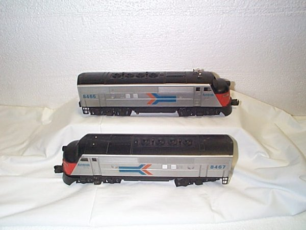 502: Lionel O27 gauge engine #8466 with unit #8467.  In