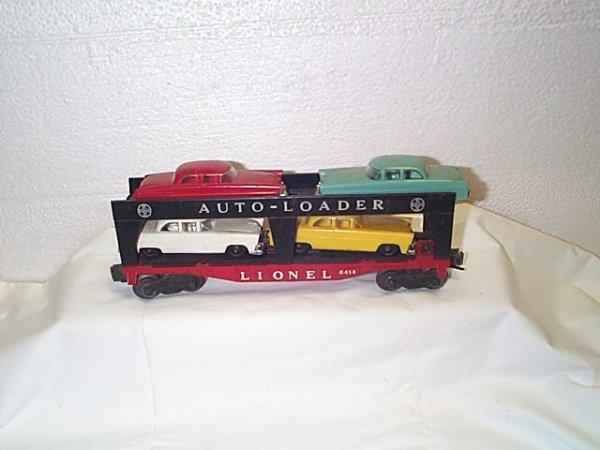 507: Lionel O27 gauge #6414 auto loader Evans.  Comes w