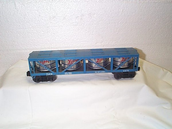 508: Lionel O27 gauge freight car #6475 Libby's Crushed