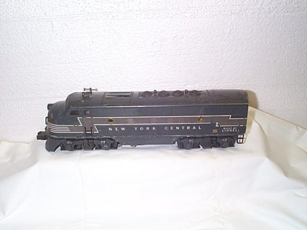 510: Lionel O27 gauge NY Central engine #2344.  In fair