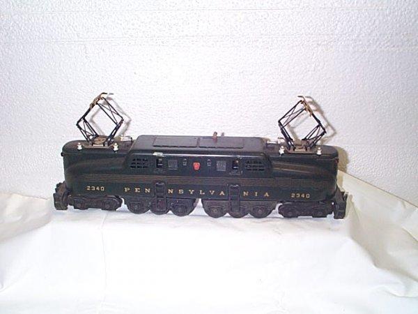 511: Lionel O27 gauge Pennsylvania RR engine #2340.  In