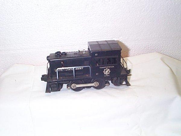 514: Lionel O27 gauge engine #41 United States Army Tra
