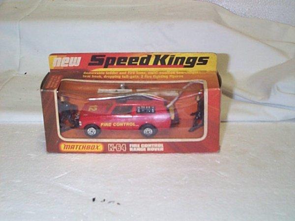 521: Matchbox Speed Kings K-64 fire control Range Rover