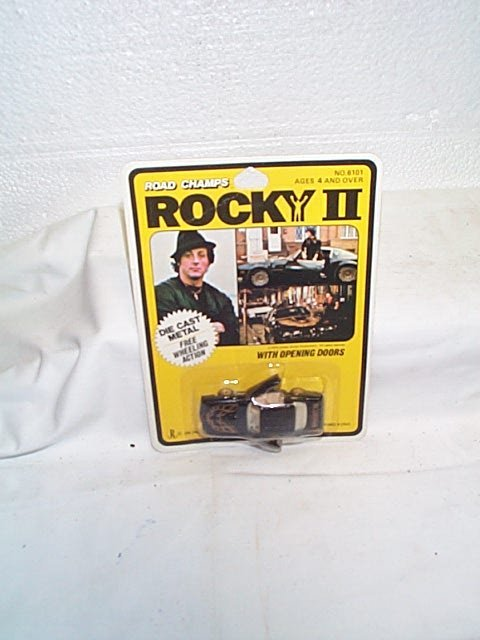 779: Road Champs Rocky II die cast metal car with openi