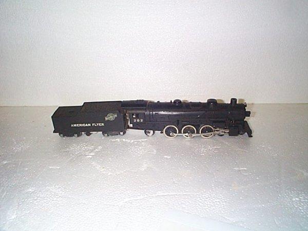 501: American Flyer engine #282 w/tender.  Chicago Line