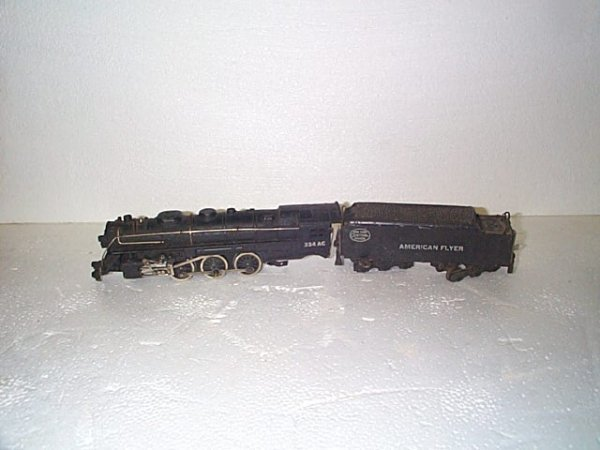 503: American Flyer trains.  Engine #324AC NY Central S