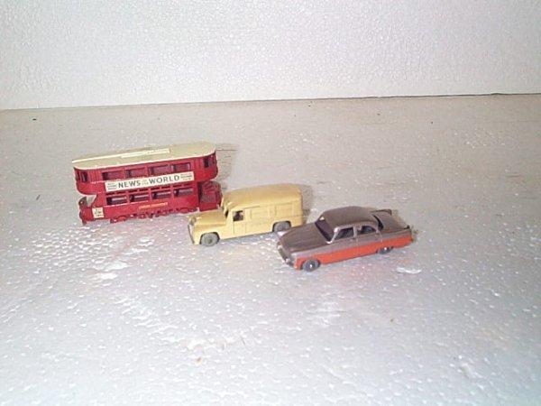 """506: Lot of 3 vintage Matchbox cars including #3 """"News"""