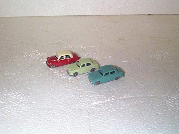 512: Lot of 3 vintage Matchbox cars including #36 Austi