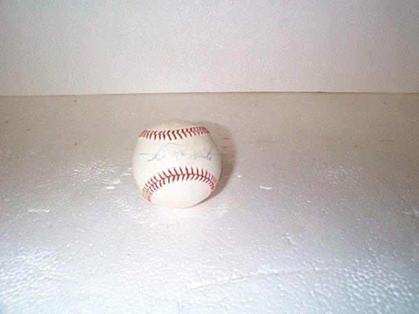 519: Signed Phil Rizzuto baseball.  Buyer to pay $15.00