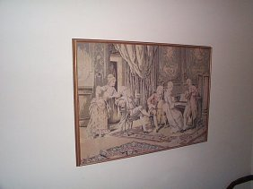 Turn Of The Century French Tapestry. Local Deliver
