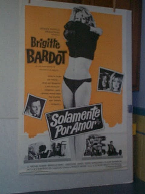 "5: Original movie poster. ""SOLAMENTE POR AMOR."" One she"