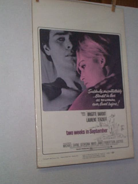 16: Original movie poster. BRIDGETTE BARDOT & LAURENT T