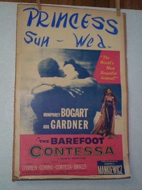 21: Original movie poster. HUMPHREY BOGART, AVA GARDNER