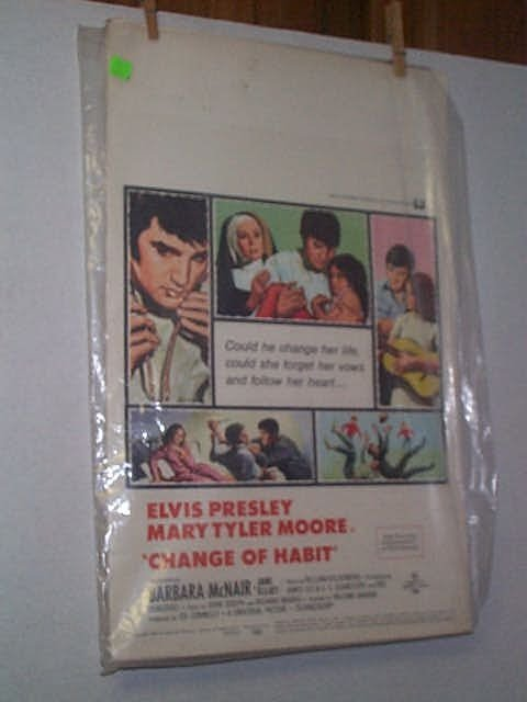 23: Original movie poster. ELVIS PRESLEY, MARY TYLER MO