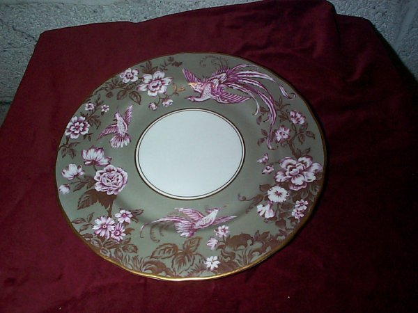 366: Signed Royal Worcester cabinet plate with pheasant