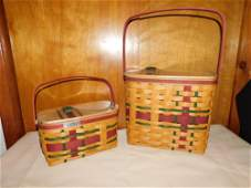 2 Longaberger Wrap It Up Baskets