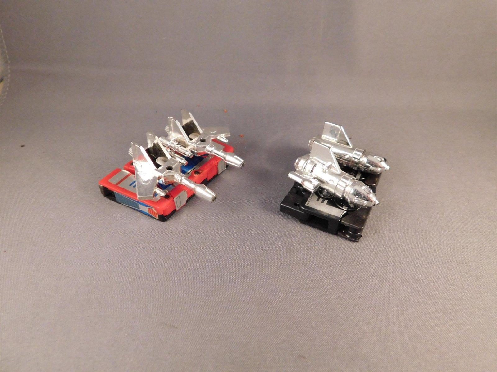 2 Vintage Transformers