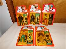 5 A Team Action Figures