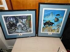 Bob Kane Signed Lithographs