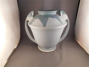 Roseville Carnelian I Double Handled Vase