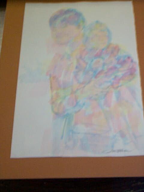 3: Original Watercolor by Don Bloom, measures 16 in. ta