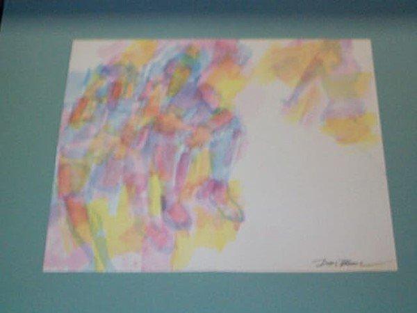 6: Original Watercolor by Don Bloom, measures 11 3/4 in