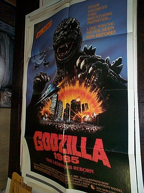 602: Original movie poster. Godzilla  1985  The Legend