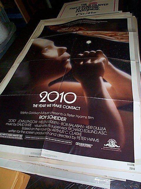 604: Original movie poster.  2010  The Year We Make Con