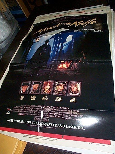 607: Original movie poster.  Mack The Knife  1990  Meas