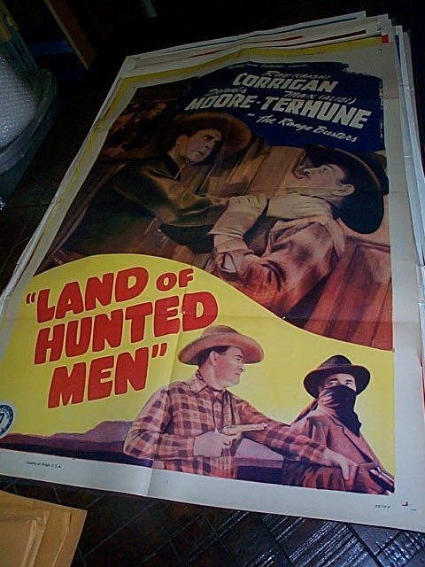 620: Original movie poster.  Land of the Hunted Men  19