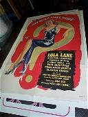 641: Original movie poster.  Why Girls Leave Home  1945