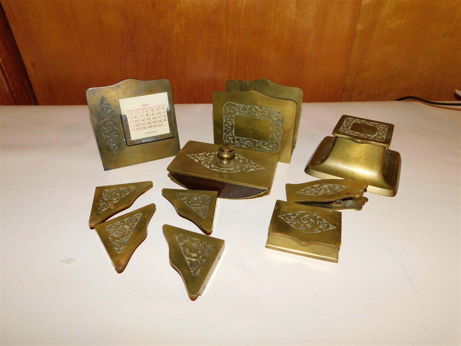 Bronze Desk Set