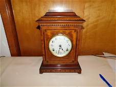 Inlaid Federal Style Mantle Clock