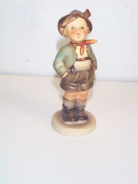 4: Hummel figurine number 93  Goebel Mark  trade mark 6