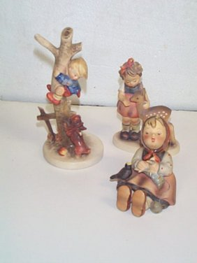 Lot Of Three Hummel Figurines Number # 69 Trademark