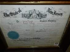 "George ""Little Mac"" McClellan Signed Document"