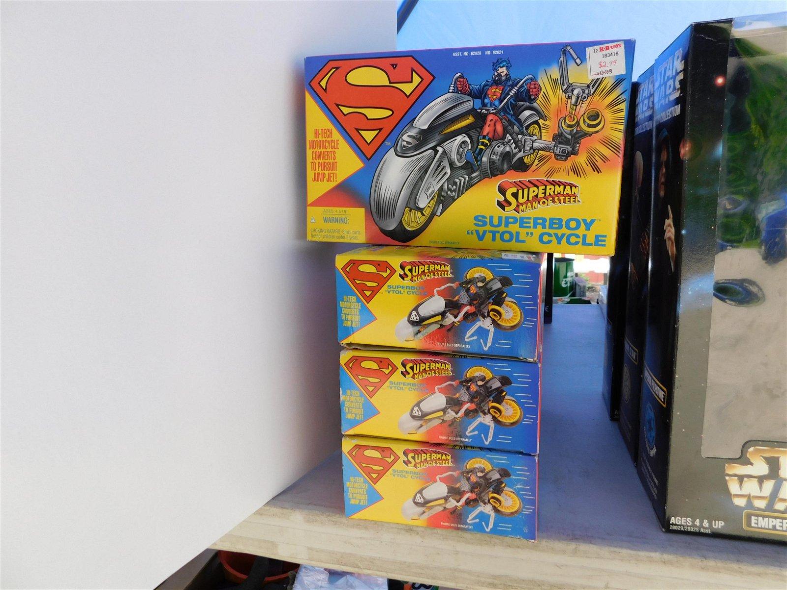 6 Superboy VTOL Cycles