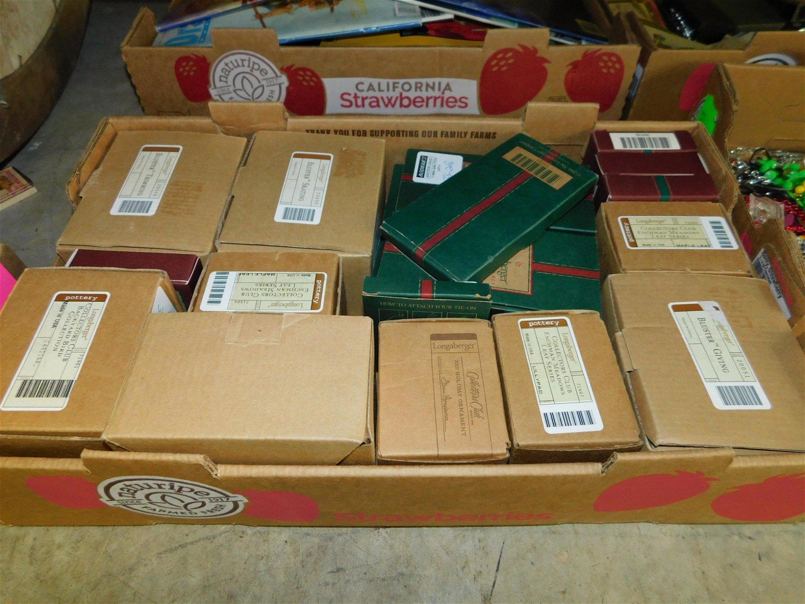 Lot of Longaberger Basket Accessories
